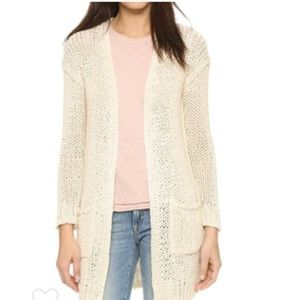 Free People | Open Knit Cardigan Sweater